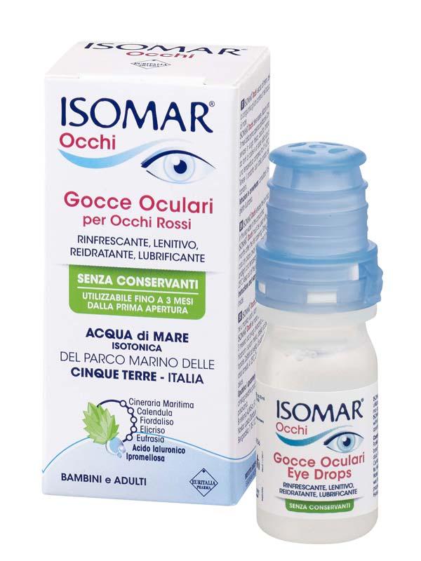 ISOMAR OCCHI GOCCE OCULARI PER OCCHI ROSSI 10 ML
