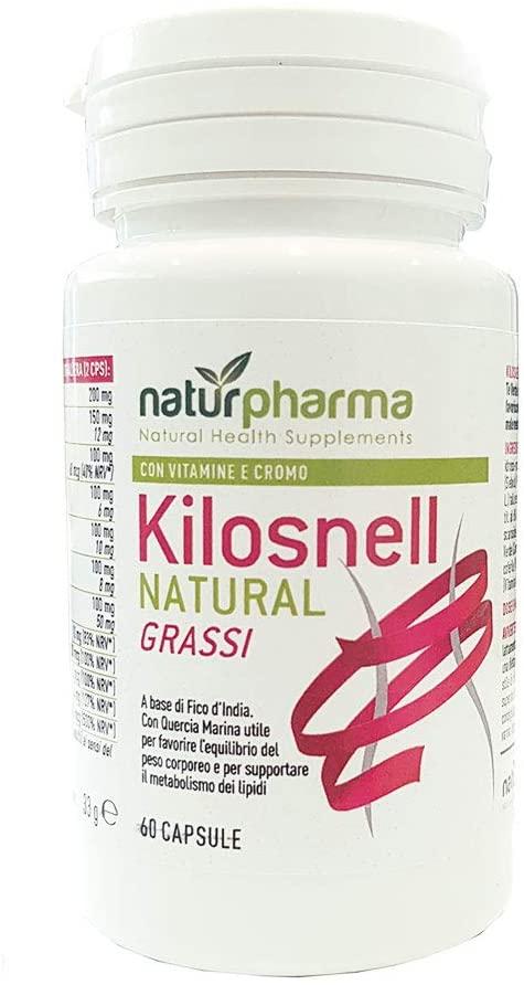 KILOSNELL NATURAL GRASSI 60 CAPSULE DA 550 MG