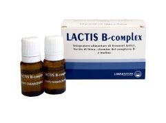 LACTIS B COMPLEX INTEGRATORE ALIMENTARE DI FERMENTI LATTICI - 8 FIALE DA 10 ML