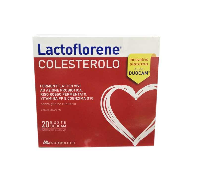 LACTOFLORENE COLESTEROLO INTEGRATORE ALIMENTARE - 20 BUSTE