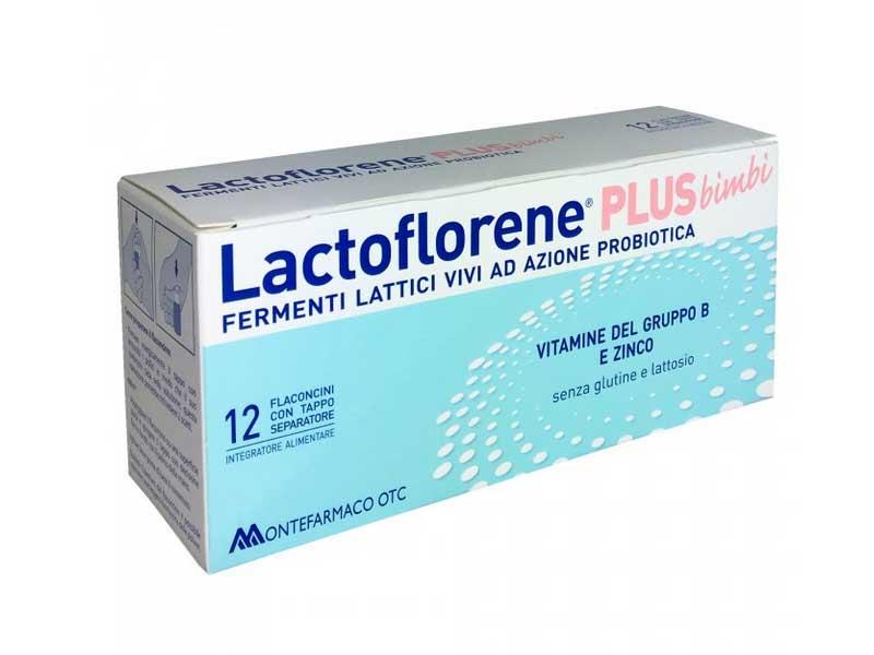 LACTOFLORENE PLUS BIMBI 12 FLACONCINI