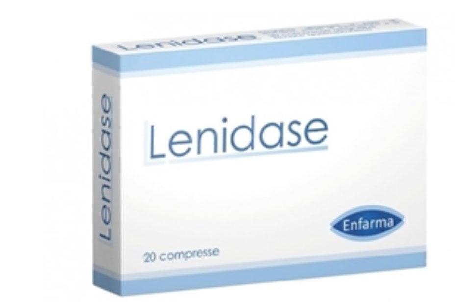 LENIDASE INTEGRATORE ALIMENTARE 20 COMPRESSE DA 0,8 G