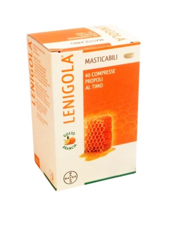 LENIGOLA MASTICABILI GUSTO ARANCIA 40 COMPRESSE
