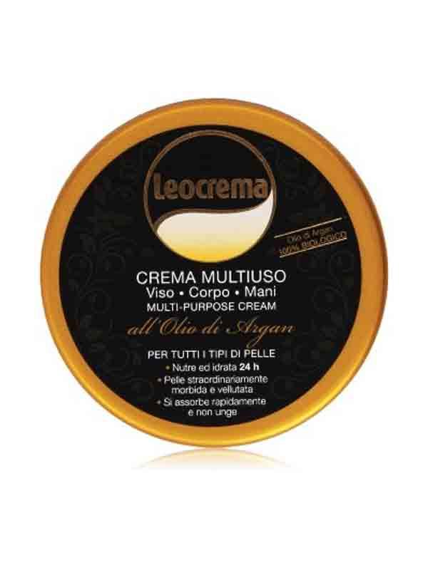 LEOCREMA MULTIUSO ALL'OLIO DI ARGAN - 150 ML