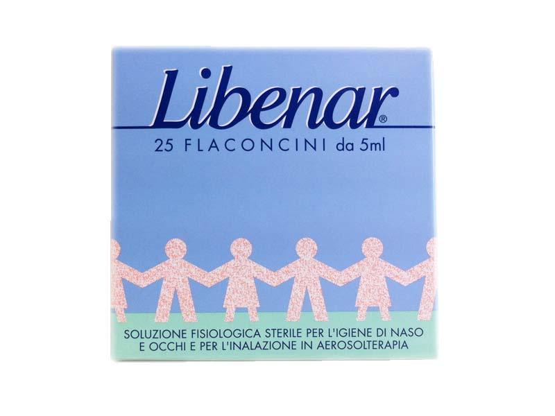 LIBENAR SOLUZIONE FISIOLOGICA 25 FLACONCINI DA 5 ML