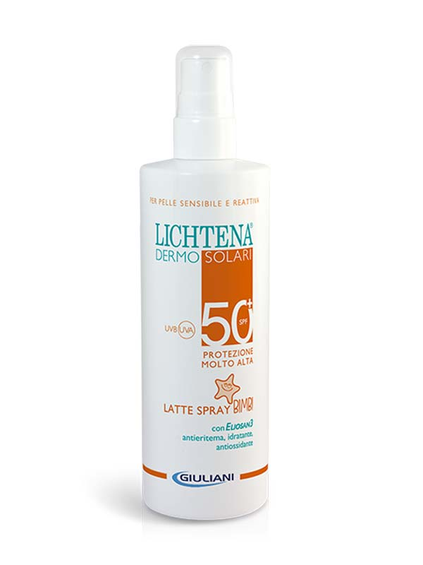 LICHTENA DERMOSOLARI LATTE SPRAY BIMBI SPF 50+ 200 ML