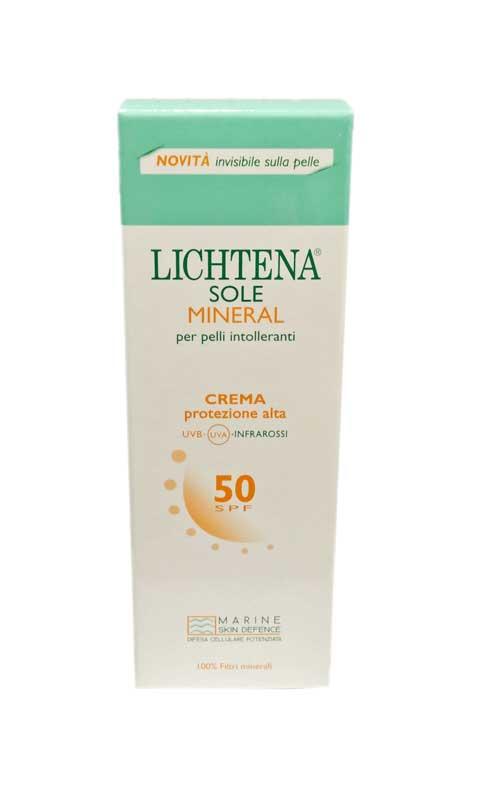 LICHTENA SOLE MINERAL CREMA PROTEZIONE MOLTO ALTA SPF 50 - 100 ML