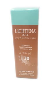 LICHTENA SOLE POLVERE ILLUMINANTE PROTEZINE ALTA SPF 30 - 2,5 G