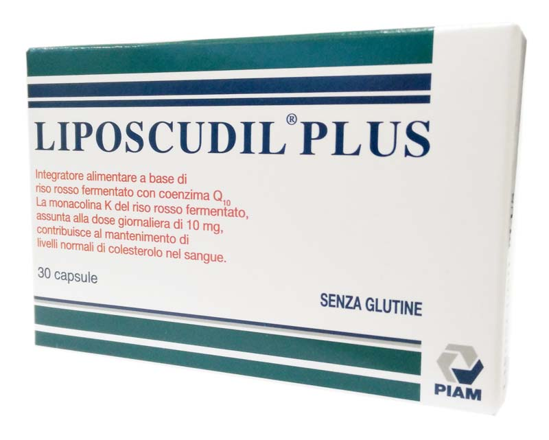 LIPOSCUDIL PLUS 30 CAPSULE
