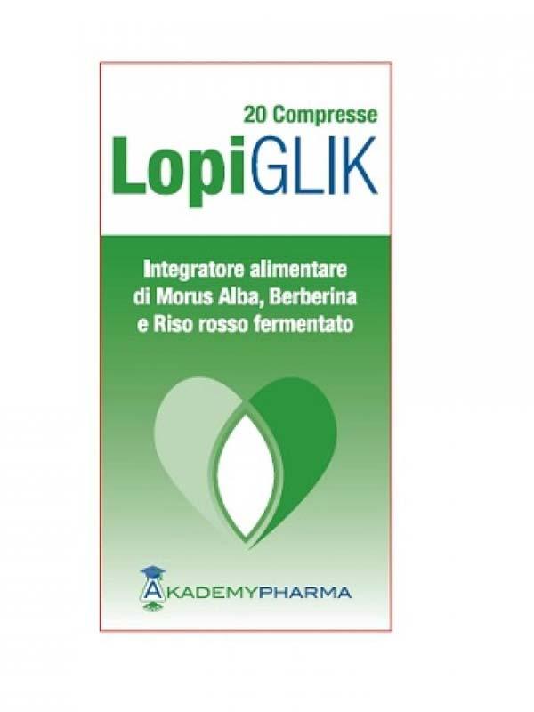 LOPIGLIK 20 COMPRESSE