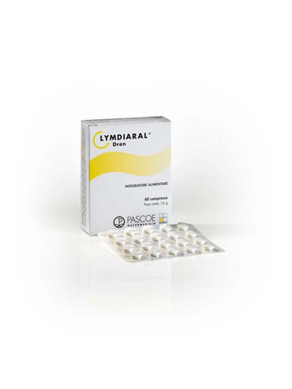 LYMDIARAL DREN 60 COMPRESSE