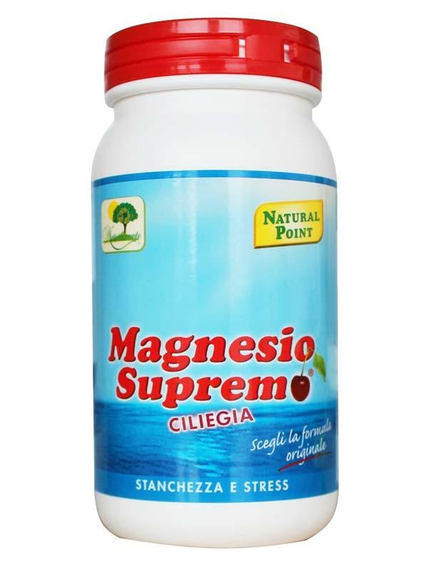MAGNESIO SUPREMO IN POLVERE GUSTO CILIEGIA 150 G