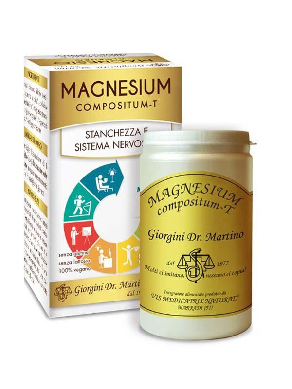 MAGNESIUM COMPOSITUM T 400 PASTIGLIE DA 500 MG