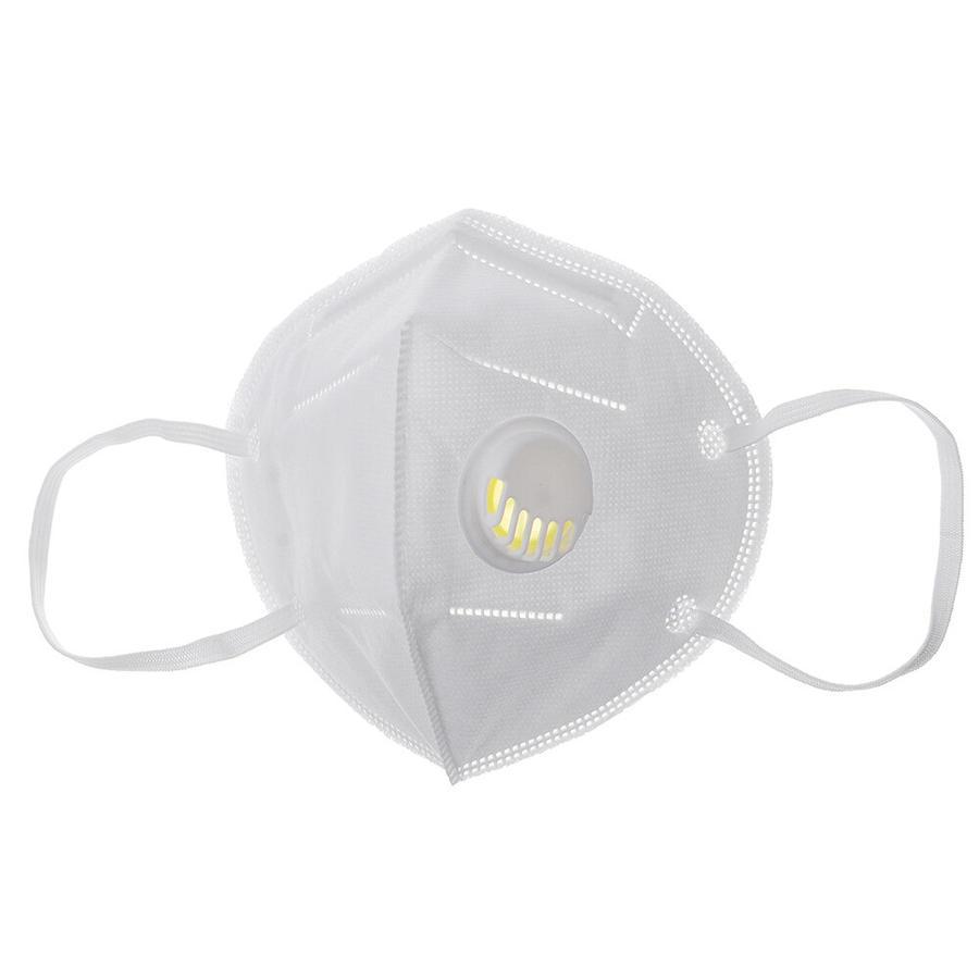 Mascherina FFP2 protettiva Filtro 95% Certificata CE - con valvola Bianca