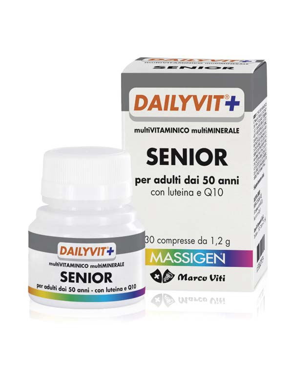MASSIGEN DAILYVIT+ SENIOR 30 COMPRESSE DA 1,2 G