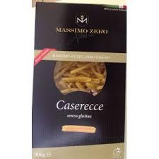 MASSIMO ZERO PASTA CORTA SENZA GLUTINE - CASERECCE - 500 G