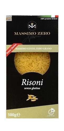 MASSIMO ZERO PASTINA SENZA GLUTINE - RISONI - 500 G