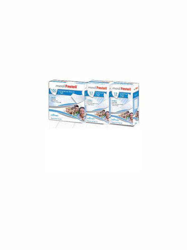 MEDIPRESTERIL GARZA STERILE TNT 10x10 CM 100 PEZZI