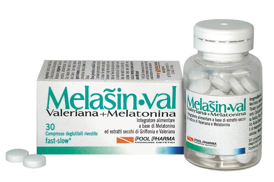 MELASIN VAL 30 COMRESSE DA 0,22 G