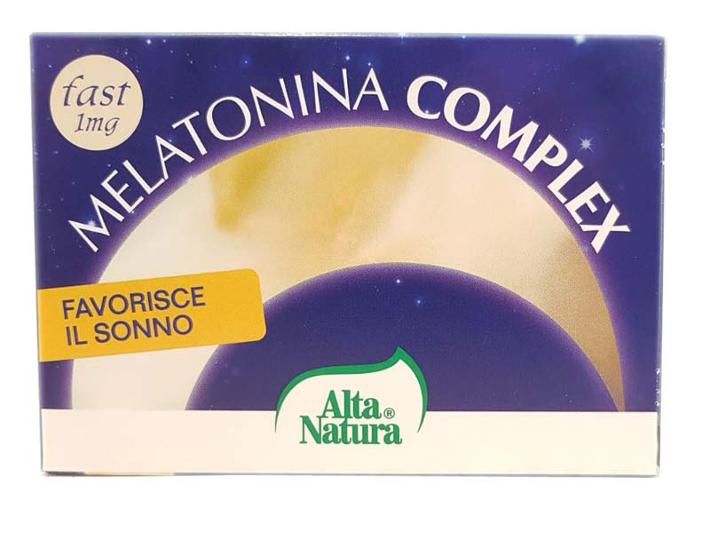 MELATONINA COMPLEX 30 COMPRESSE