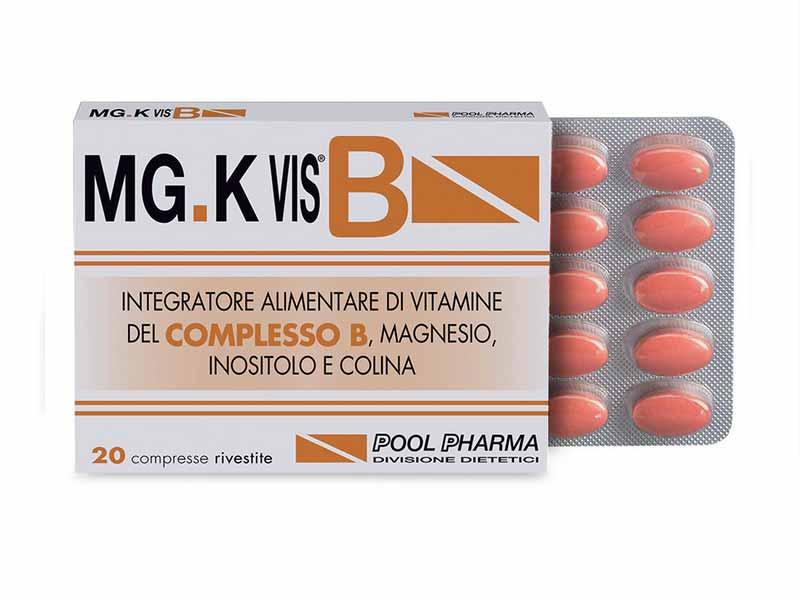 MGK VIS B INTEGRATORE ENERGETICO CON VITAMINA B - 20 COMPRESSE