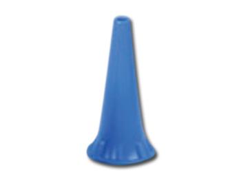 MINI SPECULUM AURICOLARE MONOUSO Ø 2.5 mm - blu