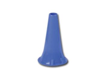 MINI SPECULUM AURICOLARE MONOUSO Ø 4 mm - blu
