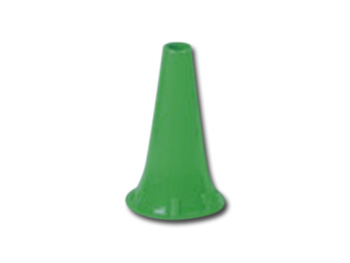 MINI SPECULUM AURICOLARE MONOUSO Ø 4 mm - verdi