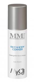 MM SYSTEM FACE AND BODY CLEANSER DETERGENTE DERMOPURIFICANTE - 150 ML