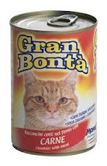 MONGE GRAN BONTA BOCCONCINI PER GATTI CON CARNE GR.400 - 24 CONFEZIONI