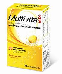 MULTIVITAMIX 30 COMPRESSE EFFERVESCENTI