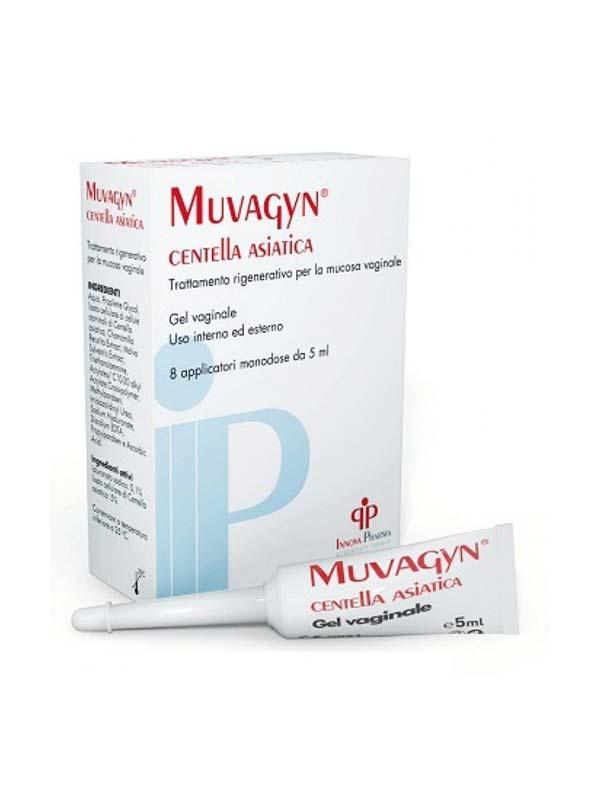 MUVAGYN GEL VAGINALE 8 APPLICATORI DA 5 ML