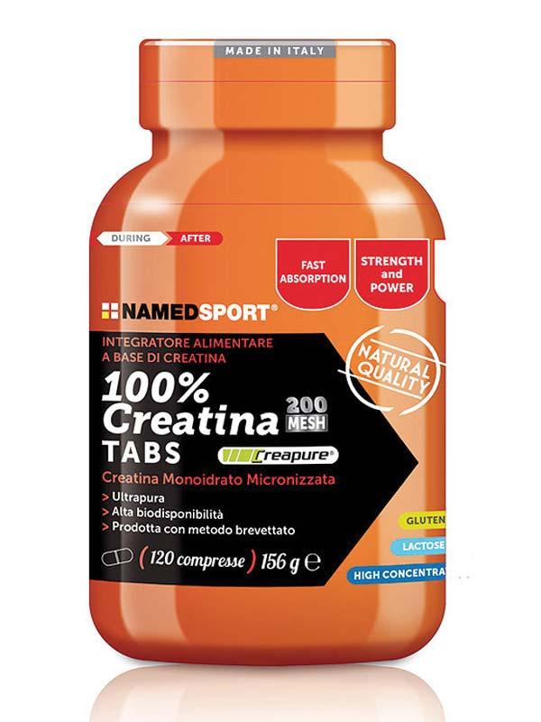 NAMED SPORT 100% CREATINA TABS 120 COMPRESSE