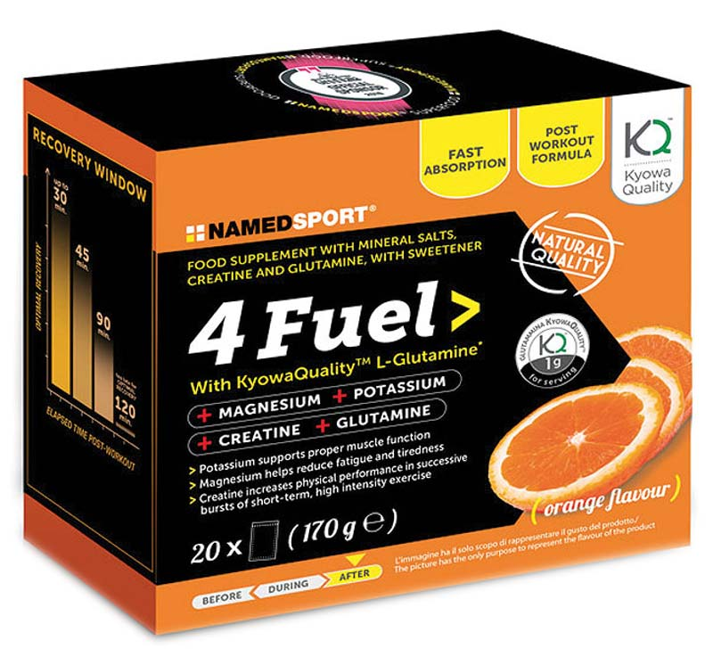 NAMED SPORT 4FUEL 20 BUSTE DA 8,5 G