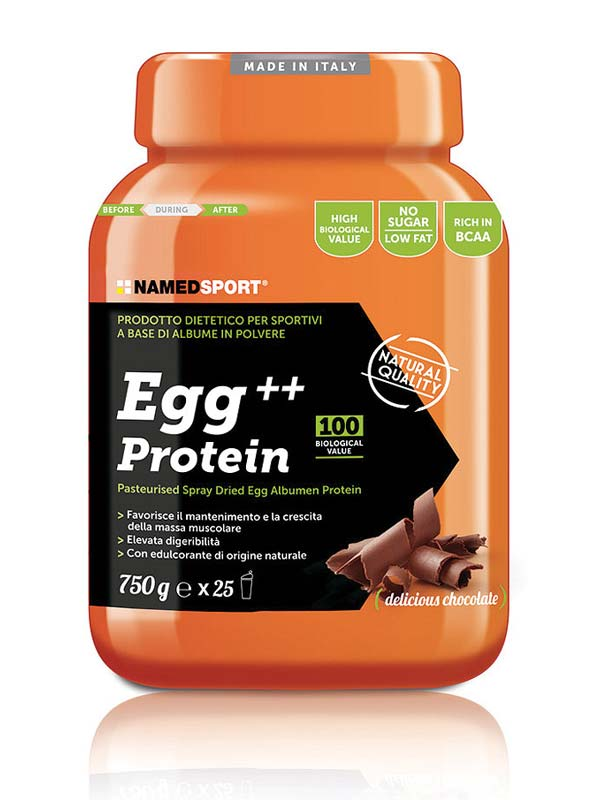 NAMED SPORT EGG PROTEIN GUSTO DELICIOUS CHOCOLATE 750 G