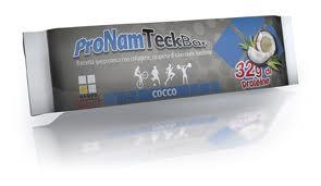 NAMED SPORT PRONAM TECK BAR - BARRETTA IPERPROTEICA GUSTO COCCO - 70 G