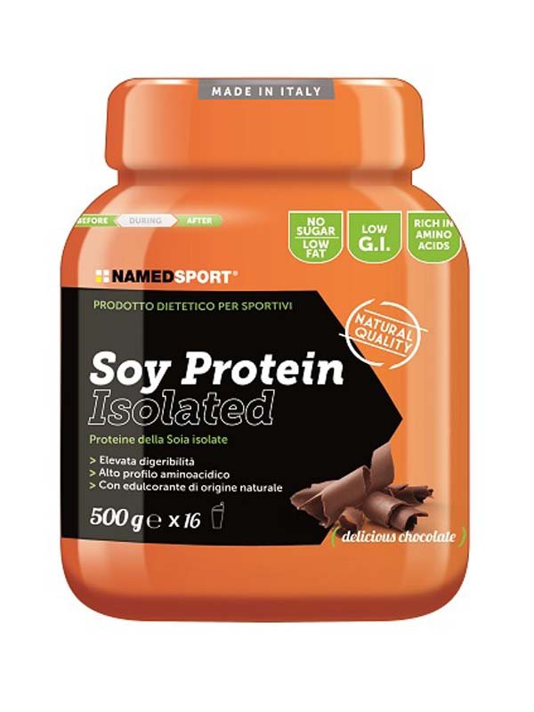 NAMED SPORT SOY PROTEIN ISOLATED GUSTO DELICIOUS CHOCOLATE 500 G