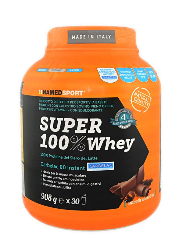 NAMED SPORT SUPER 100% WHEY GUSTO SMOOTH CHOCOLATE 908 G