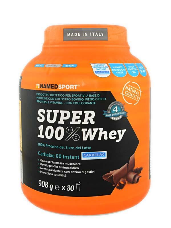 NAMED SPORT SUPER 100% WHEY GUSTO TIRAMISU 908 G