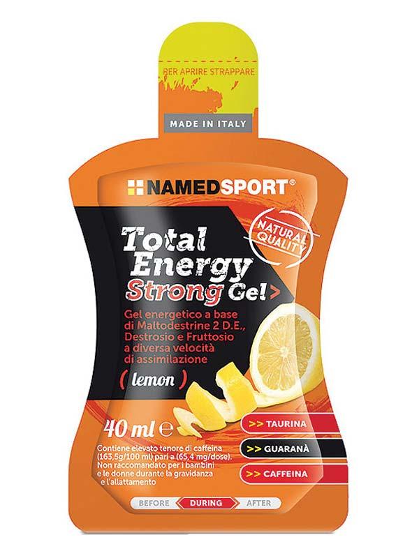 NAMED SPORT TOTAL ENERGY STRONG GEL LEMON 40 ML