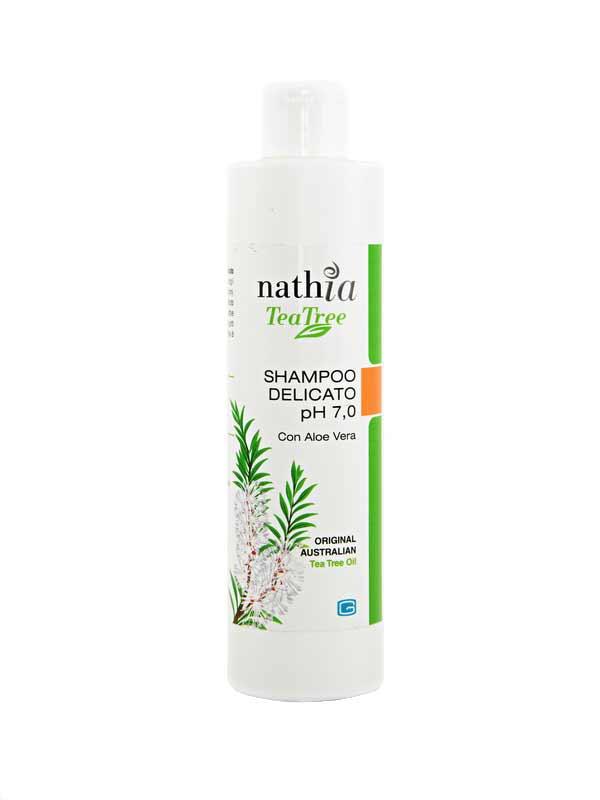 NATHIA SHAMPOO DELICATO pH 7.0 A BASE DI TEA TREE OIL 200 ML