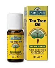 NATURANDO TEA TREE OIL ANTIMICROBICO E UTILE IN CASO DI IRRITAZIONI CUTANEE - 10 ML