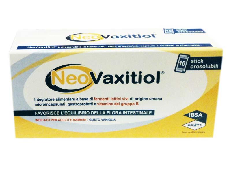 NEOVAXITIOL 10 STICK OROSOLUBILI