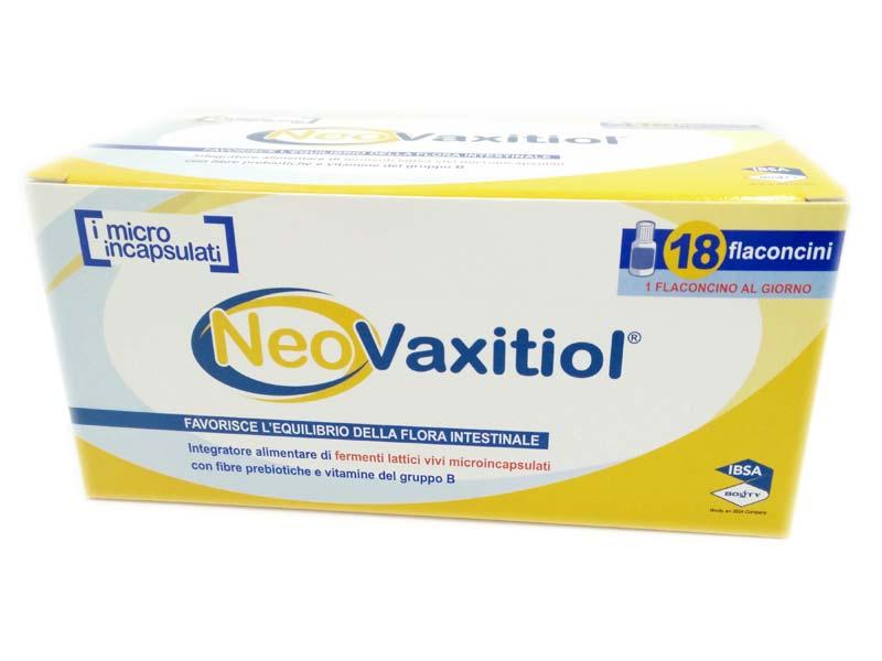 NEOVAXITIOL 18 FLACONCINI DA 11,41 G