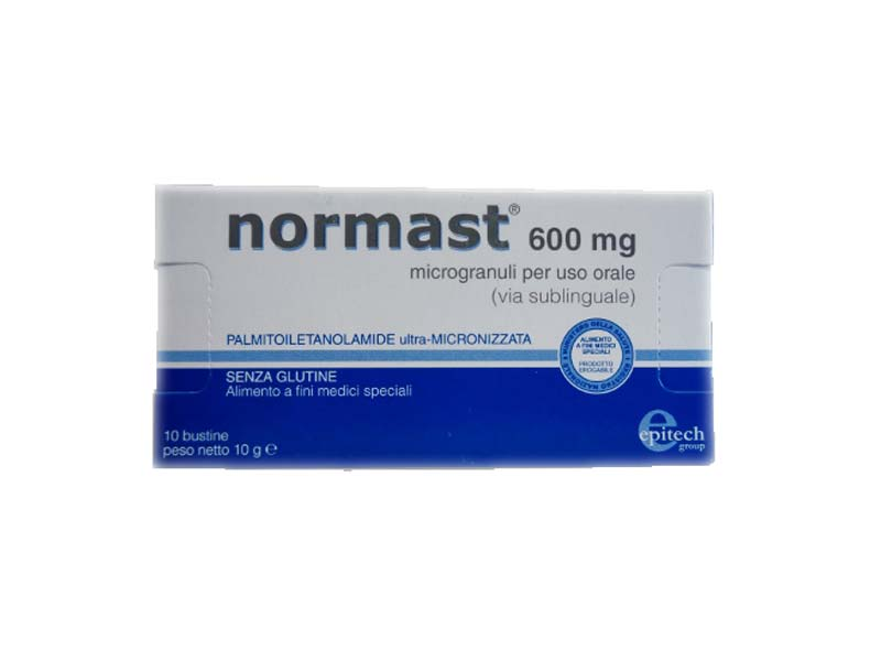 NORMAST 600 MG 10 BUSTINE