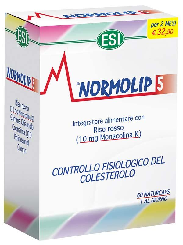 NORMOLIP 5 60 NATURCAPS