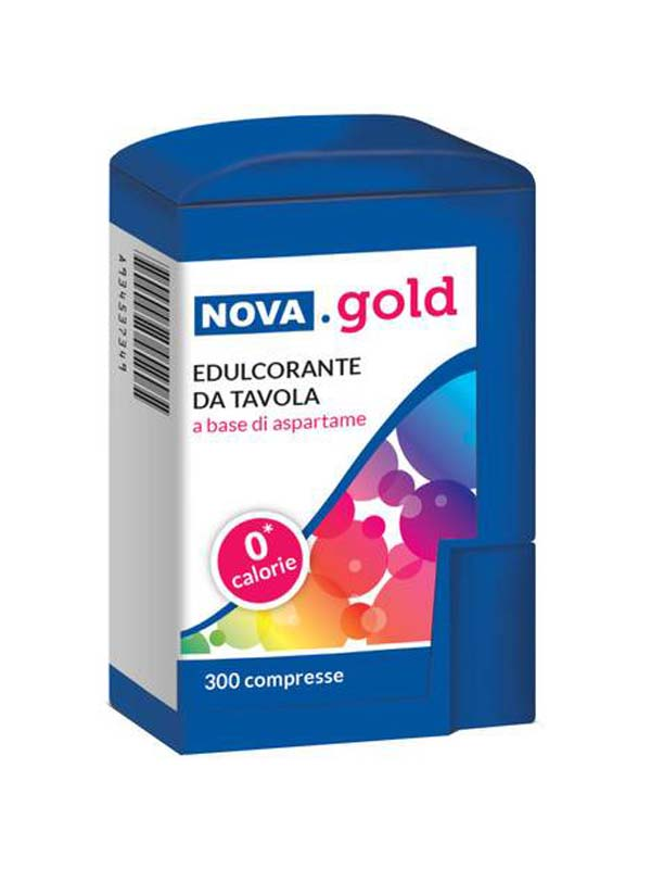 NOVA GOLD ASPARTAME 300 COMPRESSE