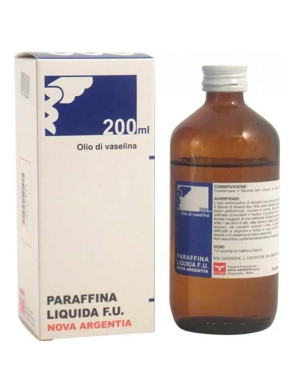 NOVA PARAFFINA LIQUIDA F.U. - 200 ML