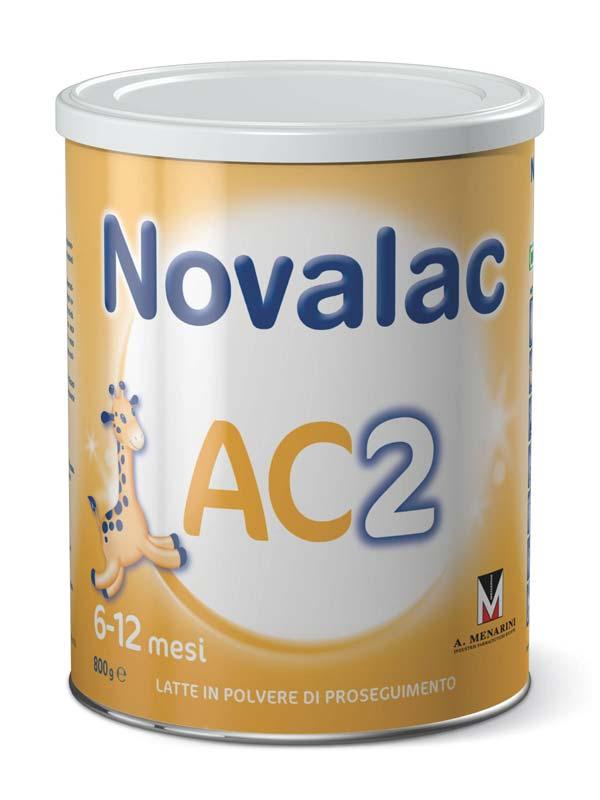 NOVALAC AC2 COLICHE LATTE IN POLVERE DI PROSEGUIMENTO 800 G