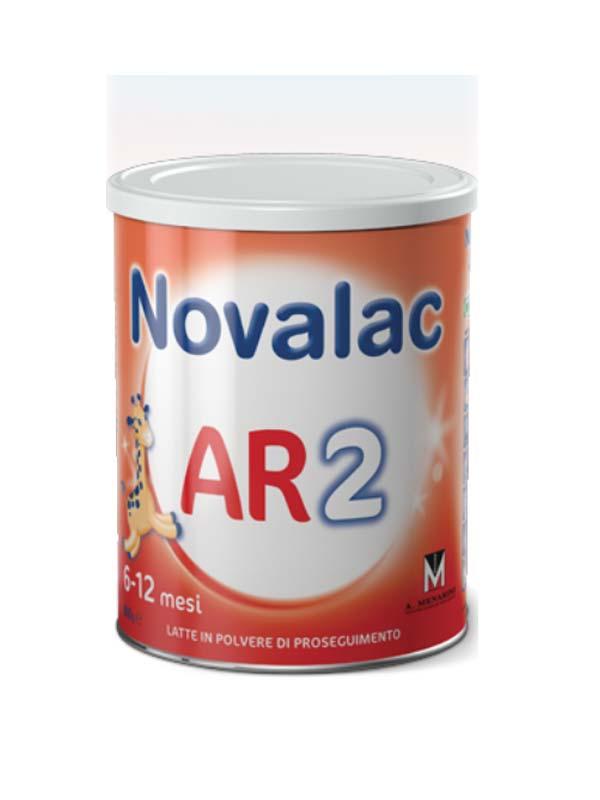 NOVALAC AR2 LATTE IN POLVERE IN CASO DI RIGURGITO DA 6 A 12 MESI 800 G